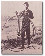 Japanese bicyclist