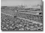 Chicago stockyards, 1947